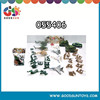 Military plastic toys for boy play army games figure play set 055406