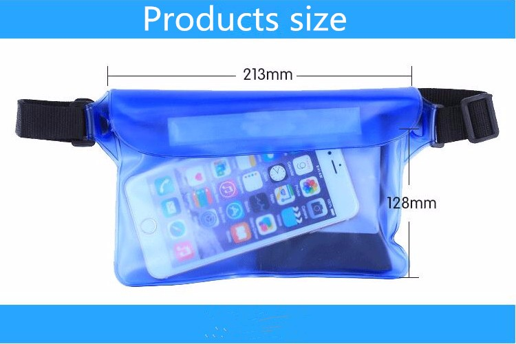 HAISSKY waterproof case / Outdoor mobile phone waterproof bag for iphone 7 /7 plus , 6 / 6 plus