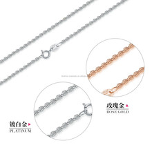 Guangzhou wholesale jewelry 925 sterling silver chain in low price