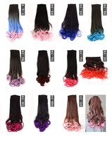 2015 new arrival hot selling grade 7A synthetic colorful ponytail