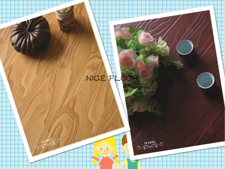 Waterproof Oak Wooden Floor Three-layer Solid Wood Flooring