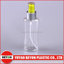 150ml cosmetic packing bottle with pump spray