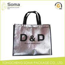 Top level new coming laminated non woven tote shopping bag
