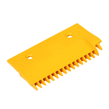 CNPCP-025 Escalator spare parts -2 holes and 160mm plastic left comb plate price with 17 teeth