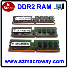Low density 8bits ram ddr2 533 400 ddr2 sdram