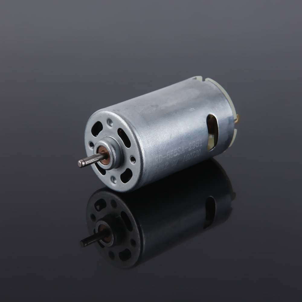RD555SA 3.6-36V micro dc brush motor for hair dryer car air pump electric tools and OA equipment