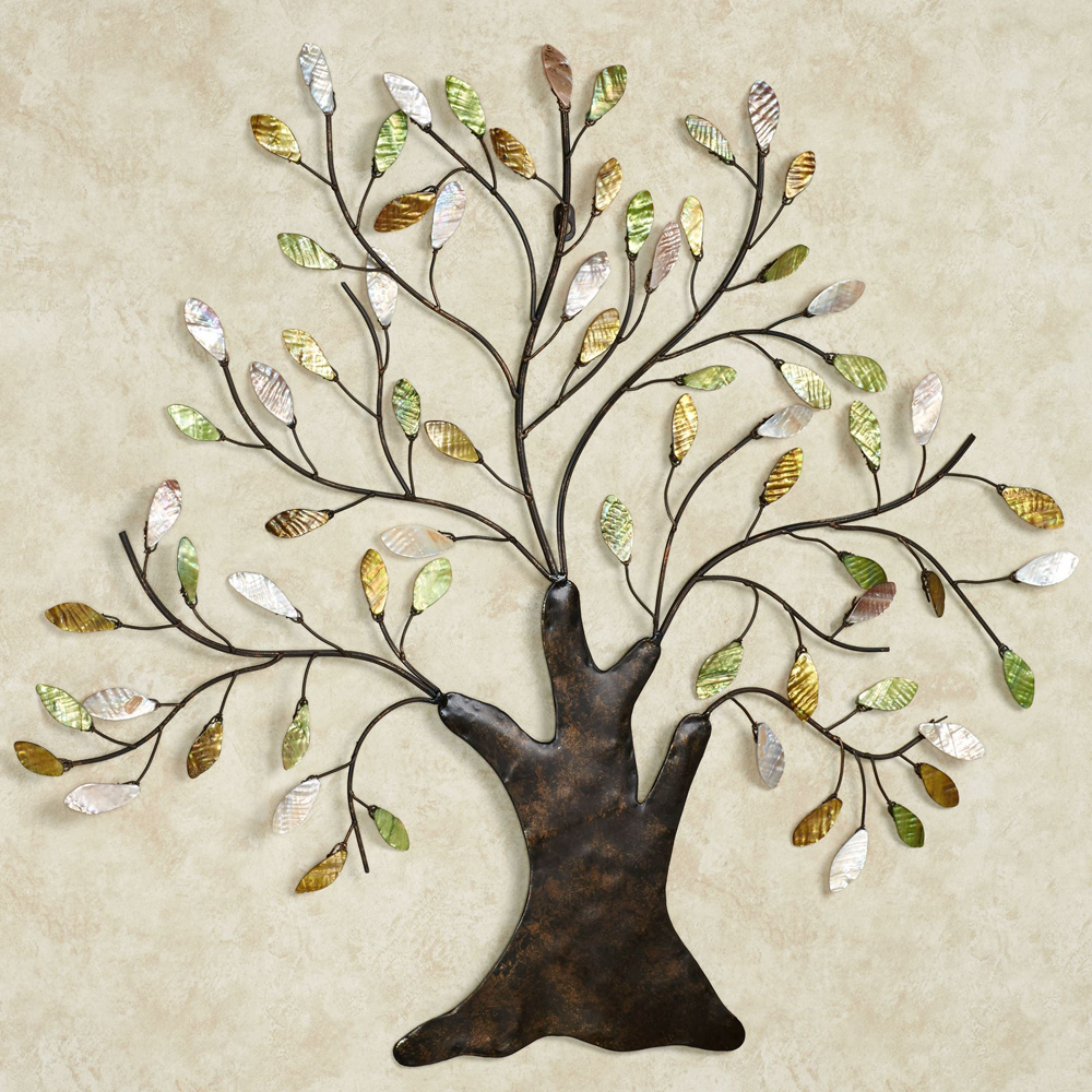 Hot selling antique metal tree wall sculptures