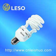 2016 main product half spiral energy saving lamp 32w T4 e27 daylight best price