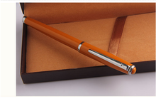 school supply orange pen metal custom liquid pen