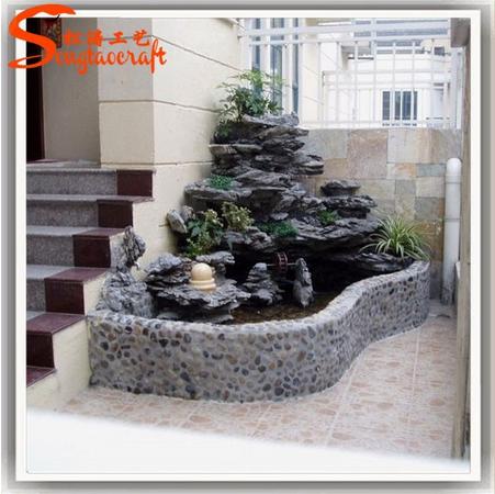 Http Www Alibaba Com Product Detail Latest Design Fiberglass Rock Waterfall Artificial 60385427927 Html