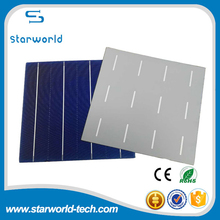 Pure Dark Blue 17.8%-18.0% efficiency 6x6 inch poly solar cells for solar panel