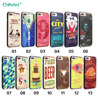 Canvas shoes style western cell phone case for iPhone 5 SE