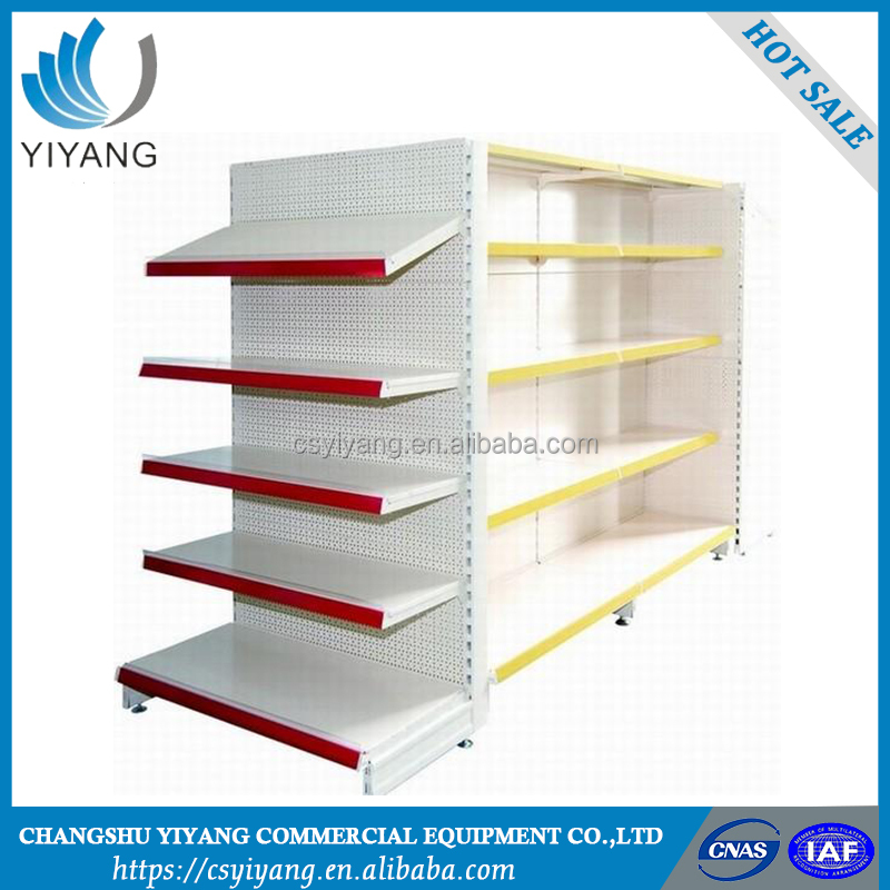 High precision cosmetic store shelves supermarket shelving