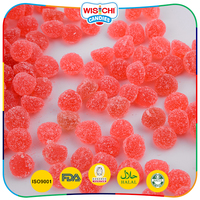 Low sweet high chewy halal fruit gummy candy