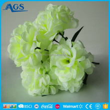 Light Green Fake Garden Plastic Flower Decorative Scenery Flower