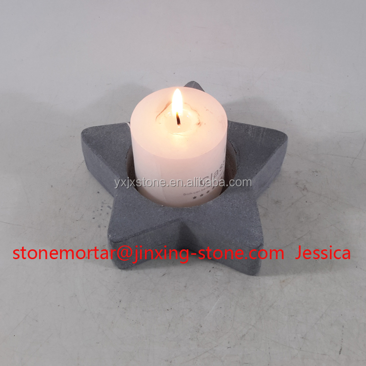 Star Shape Tea Light Candle Holder Marble Tealite Table Decoration Gift
