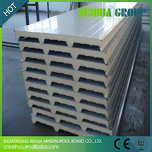 High density 16 kg/m3 foam sandwich panel for cool room use
