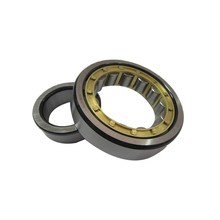 Chrome steel low noise precision straight single row cylindrical roller bearing NU2207EM