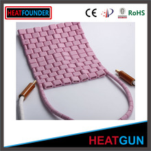 Ceramic heating pad for pre-heating & post weld heat treatment
