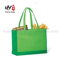 Nonwoven fabric firm vegetable packing tote bag