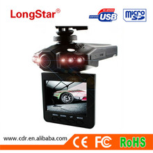 Trade Assurance Car Black Box Supplier Cheapest Super Night Vision with 6 Night Led Lights Vision Manual Car Camera HD DVR H198