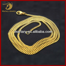 Wholesale Necklace Jewelry Heavy New Gold Chain Design For Men