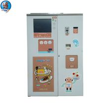 Lower Price coin vending machine ice cream motorcycle 3 wheel vending cart