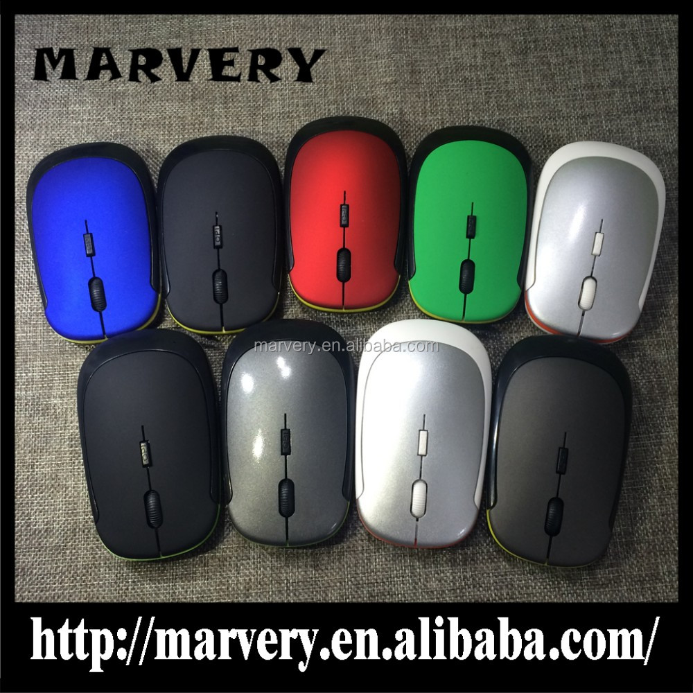 2016 New model slim mouse/computer accessories with mini wireless keyboard mouse