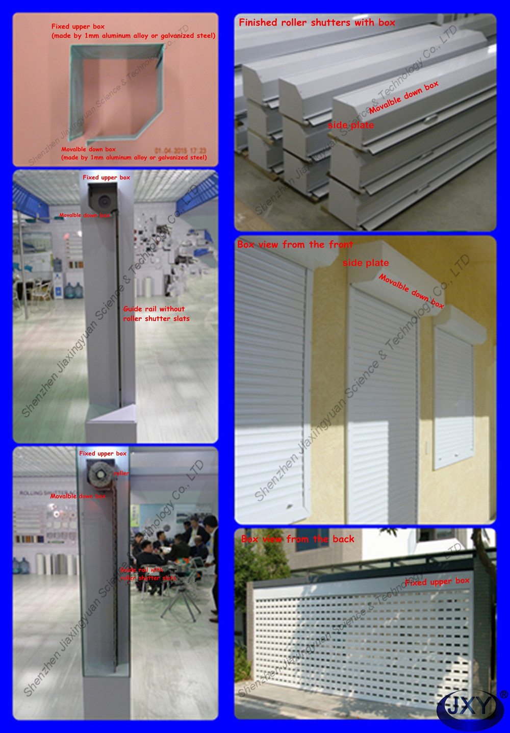 Automatic Aluminum Main Entrance Door