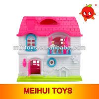 2013 Hotest Happy Family Doll House With Furniture