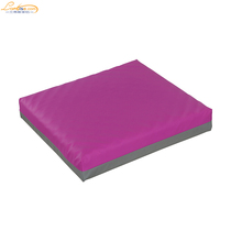 Therapeutic Skin Protection Wheelchair Seat Cushion Comfort Gel Foam Seat Cushion
