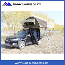Hard Shell Fiberglass 4X4 Car Roof Top Tents for Sale of 2015 Camping with Awning