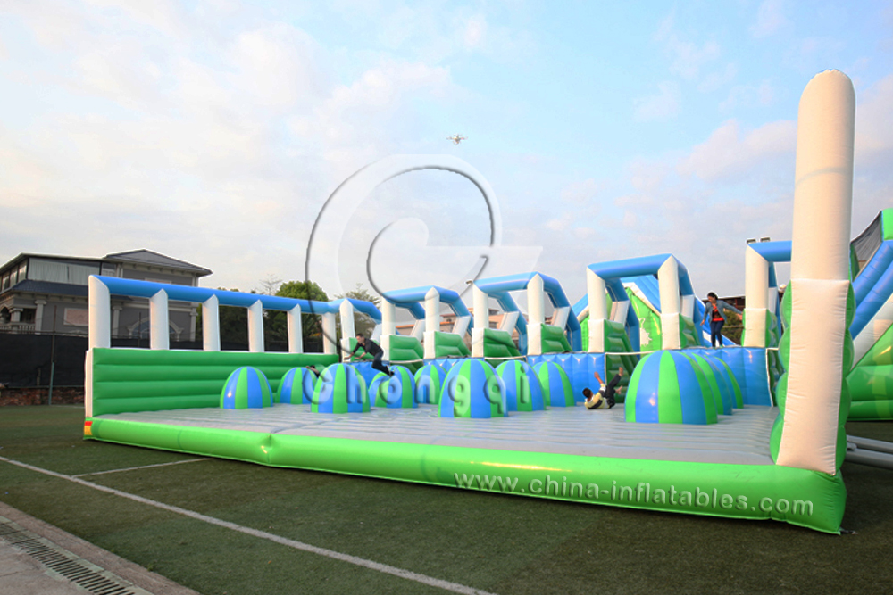 gaint adults inflatable 5k obstacle course