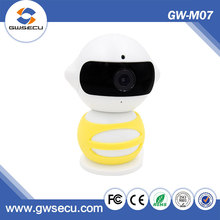 GWSECU best selling products Smart home security wireless remote control p2p magnet base robot smart home hd wireless ip camera