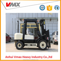 Best sell capacity 3000kg 3.0Ton Automatic Diesel Forklift Trucks lift truck with chinese engine With side shifter