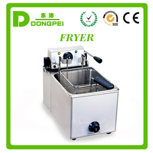 8L electric deep fryer commercial/auto lift-up fryer/automatic fryer