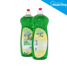 private label customized brand home & kitchen chemical formula organic vegetable cleaning dishwashing liquid