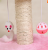 Pet Toy Mini Cat Tower Tree Scratcher Furniture Kitten House Hammockn with Cute Bell