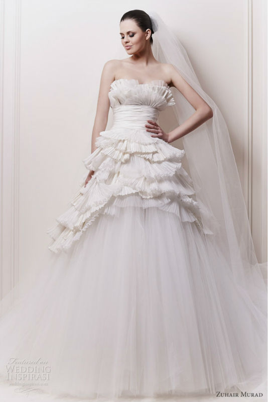 New Arriva Special Design Tulle Sexy Wedding Night Dresses(WDZU-1011)