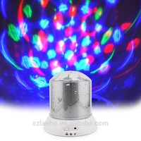 cute Star Master Colorful Sky Projecting led Night Lights ,Home Decor Kids Xmas Gifts