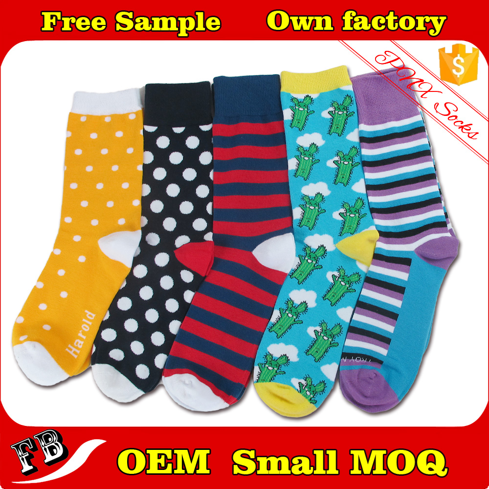 Stylish girls colorful cotton dress socks wholesale custom socks