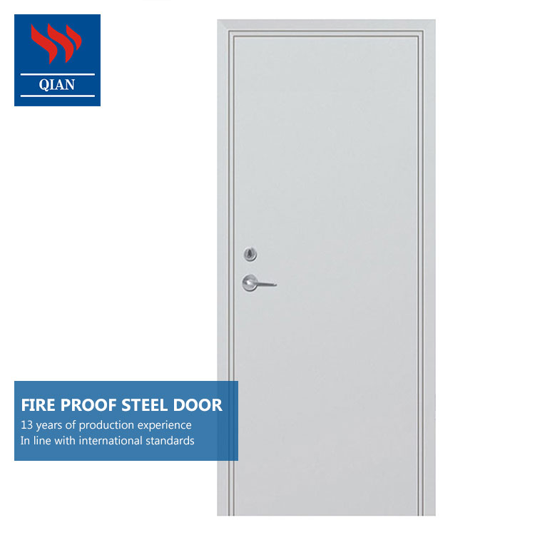 30 min fire rated metal escape 0.5 h steel fireproof <strong>door</strong> with push bar