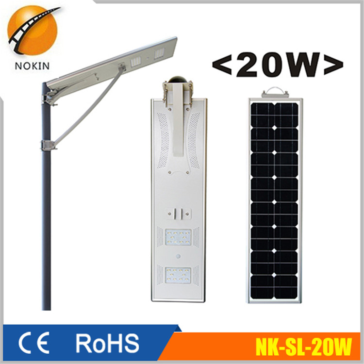 Motion Sensor Wireless Waterproof Solar Street Light for Yard Garden Outdoor Use