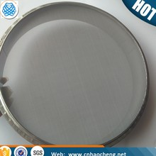 Fine 50 75 100 150 200 300 500 micron stainless steel woven wire mesh test sieve