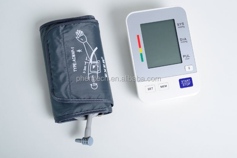 2014 New Wireless Arm Digital Blood Pressure Monitor Bluetooth for tablets iphone