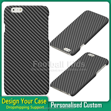 ODM OEM custom Carbon Fiber skin print cellphone mobile phone cover case for iphone 6