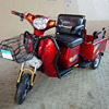 old people use small size cargo and passenger electric tricycle on sale