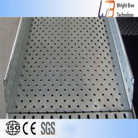 perforated cable tray roll forming machine