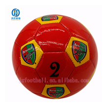 Hot Selling Product customized pvc leather football soccer ball mini soft
