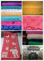 100% cotton face Towels supplier